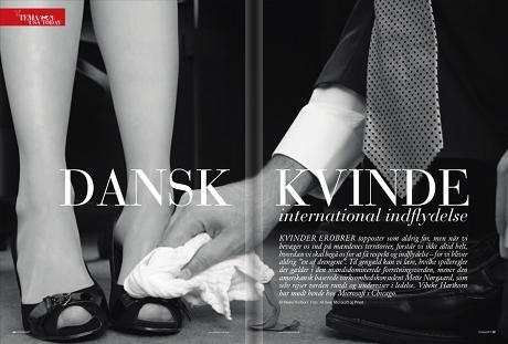Dansk kvinde – international indflydelse